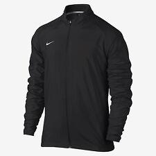 New Nike Men's L PR Woven Running Full Zip Training Jacket Black $80 Soccer