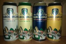 KAROLINGER New Set of 4-500ml beer can made in Germany for Russian supermarket
