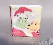 Dollhouse Miniature 1:12 Scale The Grinch Stole Christmas Book