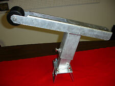 "Heavy Duty Angled Boat Trailer Winch Stand (Galvanized) 2015HDA 8"" Base"