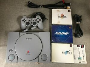 Playstation 1 Console with Cables Games Controller SCPH-7500 SONY PS1 PS NTSC-J