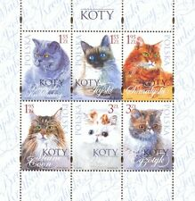 POLEN 2010 Klb Cats(2010; Nr kat.:4317-4322)