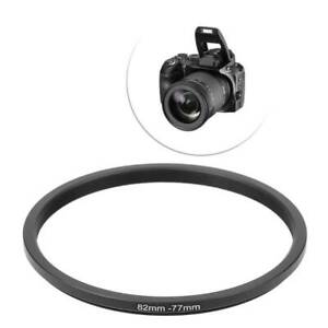 82mm To 77mm 82-77mm 82 To 77 Metal Step Down Rings Lens Stepping Adapter Filter