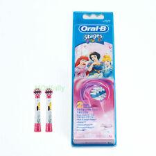 Oral-B EB10k Kids Stages Brush Heads x2 Replacement, Disney Princess Girls