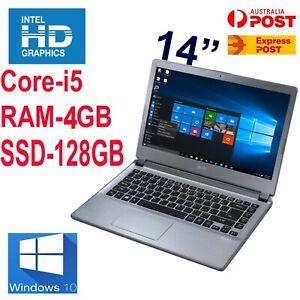 "Acer Aspire V5-473 i5-4200U 2.6GHz 4GB 128GB SSD-14"" HD Graphics Laptop Win10"