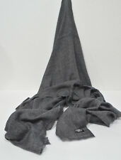 Charcoal Cashmere Scarf Shawl Stole Wrap Throw 100%Pashmina Nepalese Handmade