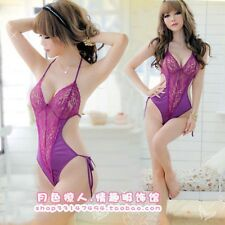 Women's Sexy Lingerie Babydoll Sleepwear Underwear Lace Dress