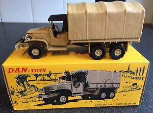 Rare - French Dinky Toys 809/Dan Toys 092 G.M.C Military Lorry, Superb Quality!