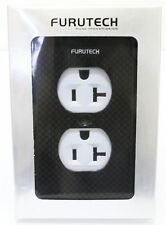 GENUINE Furutech 104-D carbon fiber Hi-Performance Duplex Outlet Cover *1PCS