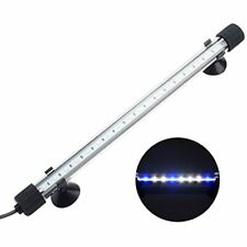 Nicrew Submersible Led Aquarium Light, Hidden White With Blue Stick For Fish 4
