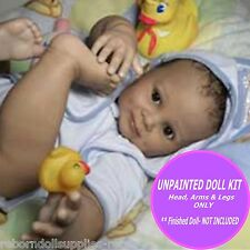 """Reborn Toddler Juan Kit, 28"""" baby doll kit to make your own sweet baby unpainted"""