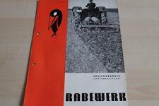 144122) Rabewerk Spatenkrümler Spatenrollegge Prospekt 01/1971