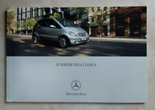 Catalogo auto Mercedes Benz - Le berline della classe A - brossura 60 pagine