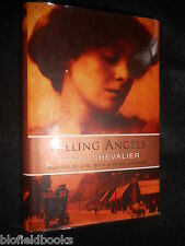 SIGNED; Falling Angels - Tracy Chevalier - 2001 (Girl With Pearl Earring Author)