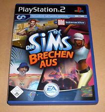 PLAYSTATION 2 Gioco La Sims rompere da-immagine-ps2 GAME COMPLETO Tedesco