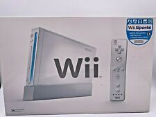 Nintendo Wii White Console with Wii Sports Game Included