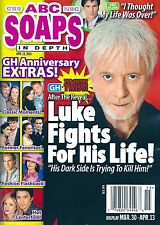 ABC Soaps In Depth Magazine - April 13, 2015 - General Hospital 52nd Anniversary