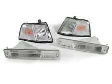 DEPO 1990 1991 Honda Civic 4DR SEDAN FRONT CLEAR CORNER + BUMPER SIGNAL LIGHTS