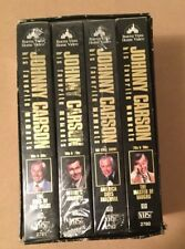 VHS BOX SET JOHNNY CARSON Tonight Show Collection Favorites 1960's to Final Show