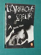 L'Arrache-coeur Boris VIAN Poche