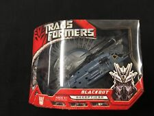 Transformers Blackout Decepticon Hasbro Automorph Technology New in Sealed Box