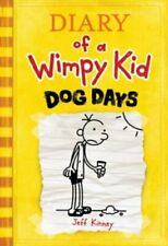 Diary of a Wimpy Kid - Dog Days # 4 Jeff Kinney  Hardcover Reading Book