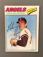 1977 Topps #650 Nolan Ryan HOF California Angels EXMT-NM