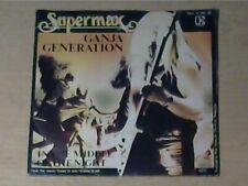 """7"""" SUPERMAX * Ganja Generation (MINT-)"""