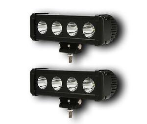 2 x 40W POWERFUL 24V 12V LED CREE SPOT LIGHT BAR CAR 4x4 OFFROAD TRUCK LORRY BUS