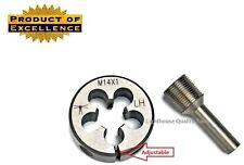 Lighthouse Tools® - Adjustable die M14X1 LH + Thread alignment tool 7.62 cal
