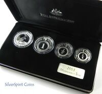 2003 MASTERPIECES IN SILVER Proof Silver Coin Set