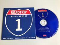 ROADTRIP VOLUME 1 - Jerry Cantrell Sinch Theory Of A Deadman Promo CD Album