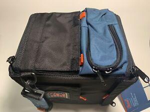 "Heavy Duty Petrol Lighting/Camera Accessories Bag 11""x11"" Black & Blue PLMD-J9"
