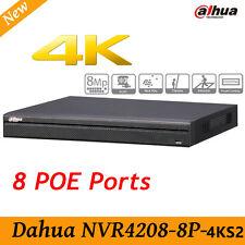 Dahua NVR4208-8P-4KS2 with 8Port PoE 4K&H.265 Lite Network Video Recorder 4K HD