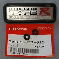 JDM Honda Acura INTEGRA TYPE R Badge Emblem Center Console Armrest DC2 TypeR