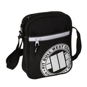 Pit Bull West Coast Shoulder Bag Pitbull 89 Black/White Schultertasche Pitbull