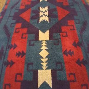 Vtg Ralph Lauren Southwestern  Aztec Navajo Towel USA rare