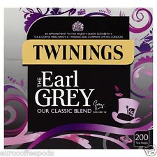 Twinings Earl Grey la nostra miscela classica 200 bustine di tè