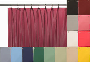 """10 Mil Heavy Duty Vinyl Shower Curtain Liner with Metal Grommets size 70 x 72"""""""
