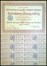Saint-Gobain, Chauny & Cirey, Manufacture des glaces N° 0206484