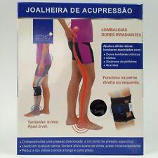 INSTA LIFE Back Pain Knee Brace ECHO+ AcuPressure Point Nerve Support Sciatic