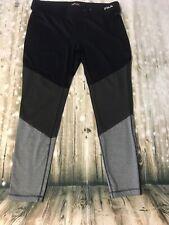 Fila Sport Midrise Leggings Xl Black women workout exercise pants 3 Colors *5