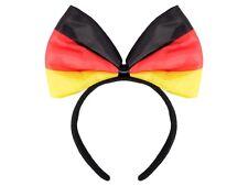 Cerchietto per capelli con papillon nei colori di Germania (00/0986)