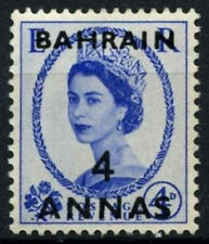 Bahrain 1952-4 SG#86, 4a On 4d Ultramarine Definitive MNH #D48874