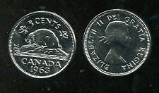 CANADA , KM 57  5 Cents 1963  Proof Like