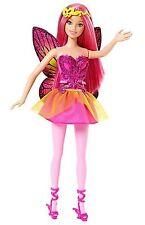 Mattel cff33 Barbie Violet Pink Mix and Match Fée avec paillettes ailes et robe