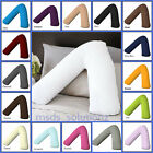 V Shaped Pillow and Pillowcase/cover~Orthopedic Nursing Pregnancy Baby Support