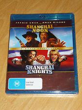 Shanghai Noon + Shanghai Knights Blu Ray New Region Free