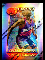 CHARLES BARKLEY ~ 1994/95 Finest REFRACTOR #275 ~~  VERY NICE CARD  32BF