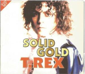 T. Rex - Solid Gold 3CD box set 54 tracks